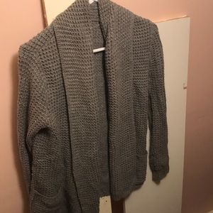 Cozy Cardigan Gray Sweater